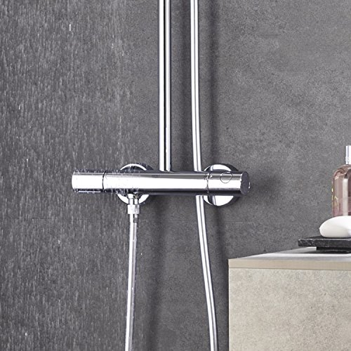 Grohe – Duscharmatur Euphoria mit Thermostatfunktion, DreamSpray, SpeedClean, Chrom - 4