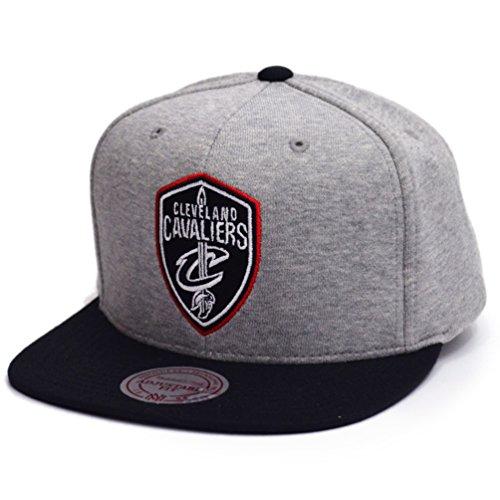 Mitchell & Ness Herren Snapback Caps The 3-Tone NBA Cleveland Cavaliers grau Verstellbar
