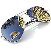 Unisex Aviator Occhiali Da Sole polarizzata Uomo Dona rispecchiata Sunglasses Sport Protezione UV …