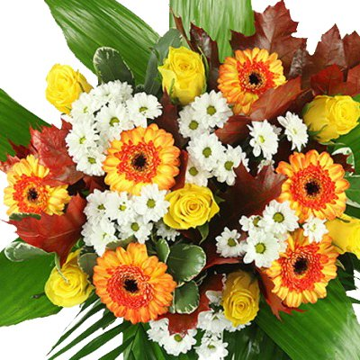 """Blumenstrauß XL """"Premiumstrauß Indian Summer"""" mit Grußkarte, Express Blumenstrauß Lieferung möglich!"""