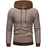 40%-60% Off!Ieason Men's Cotton Hoodies Sweatshirt Long Sleeve Autumn Winter Casual Top Blouse Tracksuits