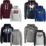 5c4b24e1ad048e JACK   JONES Kapuzenpullover 2er Pack Hoodie Sweat Shirt Herren Baumwollmix S  M L XL XXL (S