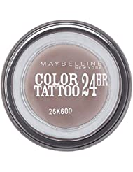Maybelline Eye Studio Color Tattoo 24-Std.-Eye Shadow - Permanent Taupe - Packung mit 6