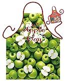 Apfel Motiv Kochschürze Apfel Apfelbaum Schürze : Apple -- Weihnachtssgeschenk-Set -- Deko Geschenk Flasche Weihnachten