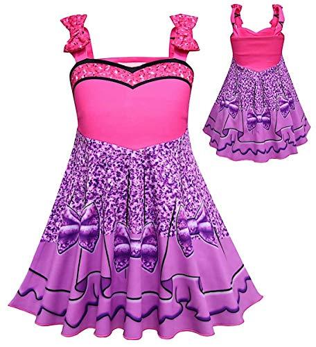 VersusModa Simile LOL Sugar Queen Vestito Carnevale Travestimento Bambina Tipo LOL Dress Cosplay LOLSUQ1 (130)