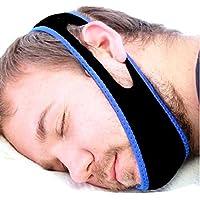 HaoYiShang Correa de la barbilla Pare ronquido Anti Apnea del Sueño Anti ronquido Correa de mandíbula W Programa de sueño gratis. Pare de roncar No hay máscaras de apnea del sueño