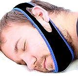 Haoyishang cinturino anti-russamento apnea del sonno anti russare cinturino mandibola con programma di sonno gratuito. Stop al russare no maschera di apnea del sonno