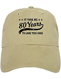 CafePress Funny 80Th Birthday - Baseball Cap With Adjustable Closure, Unique Printed Baseball Hat