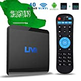 Live IPTV Receiver Box 1600+ Global Channels from Asian American Europe Arabic Brazil