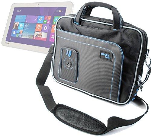 DURAGADGET Maletín Con Diseño Innovador Para Las Tablets Toshiba Encore 2 WT10 - A - 102 / WT10 - A - 106 / Satellite Mini Click - En Color Negro Y Azul