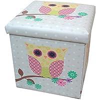 Preisvergleich für Owls Eule groß Falt-Aufbewahrungsbox und Sitz