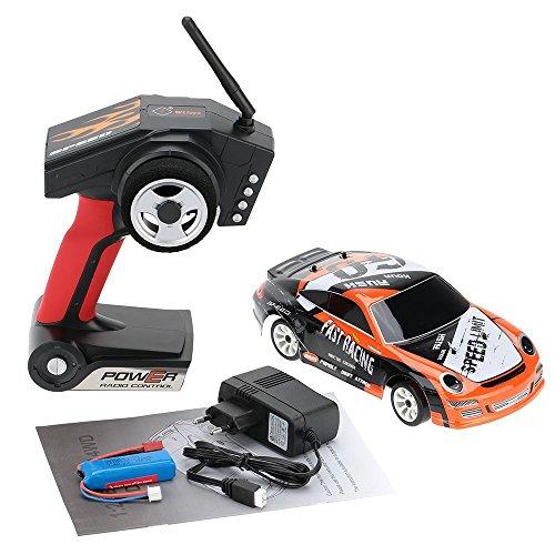RC Auto kaufen Drift Car Bild 6: ZHAGOO Elektro Spielzeugautos A252, 2,4 G, Ma stab 1 24, 40 km h, 4 WD, RTR High Speed Funksteuerung, RC Drift Flat Sportwagen Spielzeug*