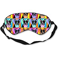 Eyes Mask Fashion Boston Terrier Pop Art Silk Mask Contoured Eye Masks for Sleeping,Shift Work,Naps preisvergleich bei billige-tabletten.eu