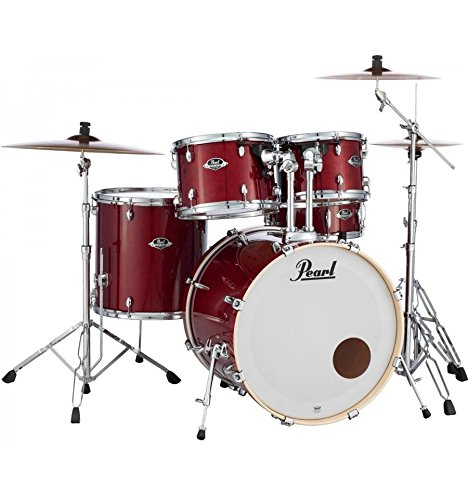 'Batteria pearl Export Laquer standard 22 5 futs Natural Cherry