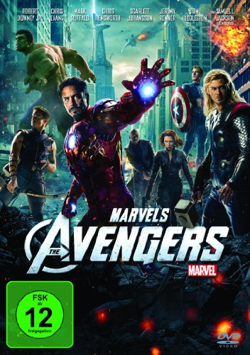 Marvel's The Avengers (Scarlett-der Film Dvd)