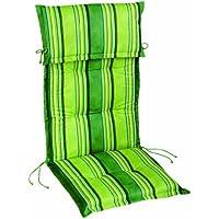 Best 1141114 Verde Cojín para asiento y respaldo cojín - Cojines (Cojín para asiento y respaldo, Silla, Verde, Rectángulo, Imagen, 480 mm)