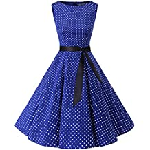 47a77a21becf6 Bbonlinedress Women s Retro 1950s Vintage Swing Rockabilly Party Cocktail  Dress