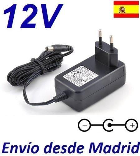 Cargador Corriente 12V Reemplazo Reproductor DVD AEG 4551 Recambio Replacement