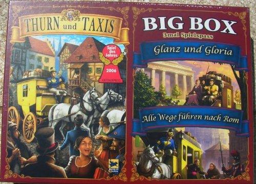 Thurn und Taxis Big Box -Basisspiel & 2. Erweiterungen