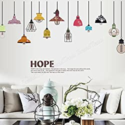 Removable Wall Decoration Wall Decal Sticker Lantern Wall Sticker