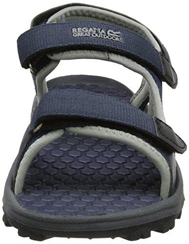 Regatta Terrarock, Sandales de Randonnée Homme Gris - Grey (Seal Grey)