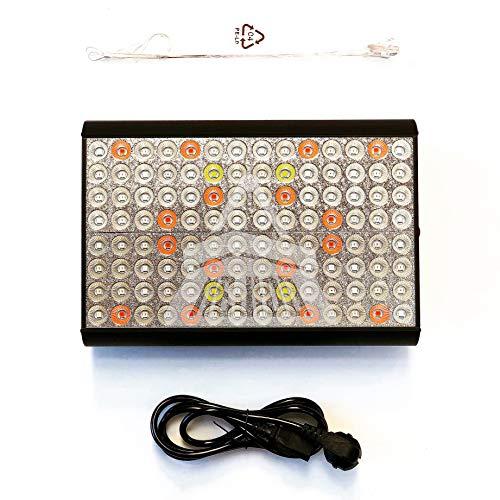 Lámpara de cultivo LED Grow marca Mejido, modelo Antares 1200W Full Spectrum...