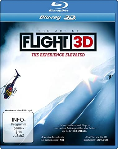 Art of Flight 3d, the [Blu-ray] [Import allemand]