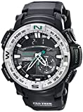 Casio Men's PRG-280-1CR PRO TREK Analog-Digital Display Quartz Black Watch