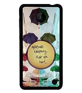 PrintVisa Back Cover for Nokia Lumia 630 (Multi-coloured)