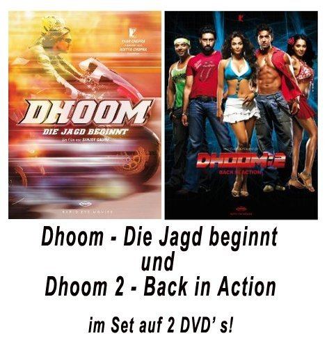 Dhoom - Dhoom 1 + Dhoom 2 - Back in Action-Set