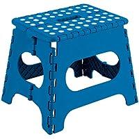 Arregui TB-027-A - Taburete plegable 29x22x27cm azul