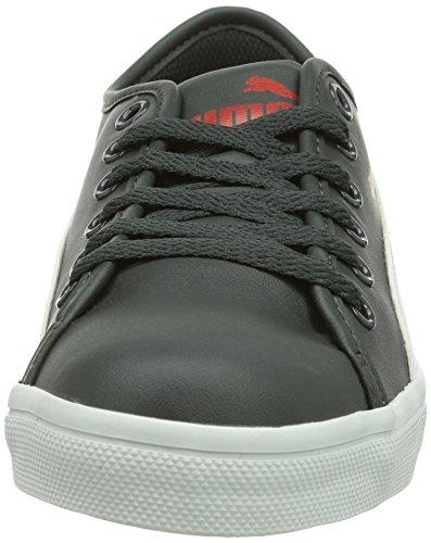 Puma Elsu SL Unisex-Erwachsene Sneakers Grau (dark shadow-white 02)
