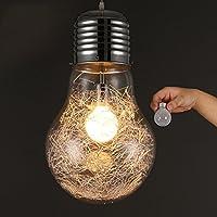 KJLARS Lampadario/Lampada da sospensione in retrò vintage industriale Stile Illuminazione