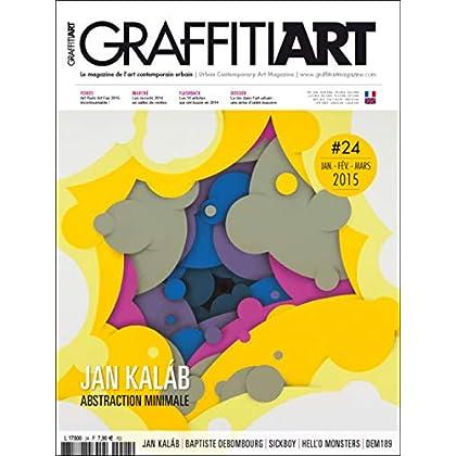 Graffiti Art N 24 Jan Kalab (Janvier 2015)
