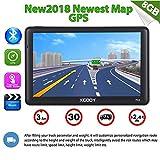 Xgody 712Bluetooth Truck sistema di navigazione GPS per auto touchscreen capacitivo 17,8cm 8GB ROM navigatore satellitare con mappe a vita Spoken Turn-by-Turn direzioni