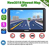 xgody 712Bluetooth Truck GPS Navigation System für KFZ 17,8cm Kapazitive Touchscreen GPS 8GB ROM Navigator mit Lifetime Maps Updates gesprochen Turn-by-Turn Richtungen