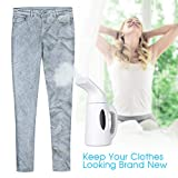 BHY 850W Garment Steamer, Clothes Steamer,120ML HandHeld Steamer Iron Powerful and Portable Steamer wih Fast Heat Up Remove Wrinkles For Home, Office, Travel, Best Gift for Women Wife