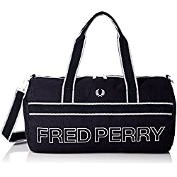 Navy Sports Canvas Barrel sac de Fred Perry