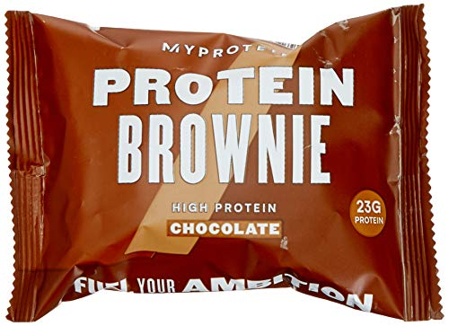 Myprotein Protein Brownie, Chocolate 1er Pack 12 x 75 g (Gebackene Brownies)