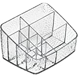 InterDesign 52850EU Rain Kompakte Kosmetikablage, durchsichtig