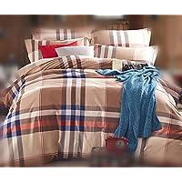 Esotici 100% cotone 4 pezzi di biancheria da letto biancheria da letto confortevole a Set ipoallergenico aria buona permeabilità antimacchia , 2.2m