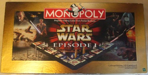 Star Wars Episode 1 Monopoly - Collector's Edition