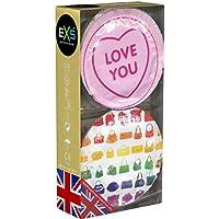 EXS Girls Mix - Sichere Kondome in süßem Design - 12er Pack   Extrem sicher und hochwertig   Doppelter Schutz... preisvergleich bei billige-tabletten.eu