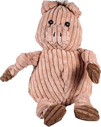 Artikelbild: Hugglehounds Plüsch Cord strapazierfähig Knotties Hundespielzeug Pig Hundespielzeug