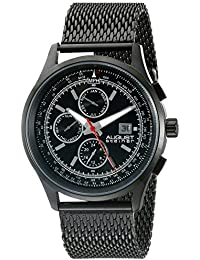 August Steiner Reloj de cuarzo Man AS8194BK 42 mm