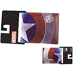 Marvel Captain America cartera doble pliegue