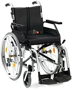 """Drive DeVilbiss Healthcare Enigma XS2 Aluminium Self-Propelled Wheelchair with 20"""" Seat Width"""