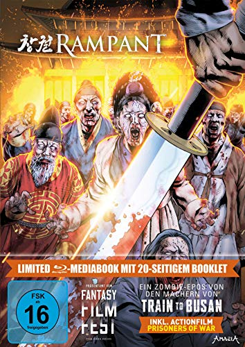 Rampant LTD. - Limitiertes 2-BD-Mediabook samt FSK-Umleger [Blu-ray]