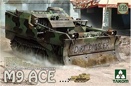 TAKOM TAK-2020 - Modellbausatz U.S. Armored Combat Earthover M9 ACE (Model Paint Kit Militär)