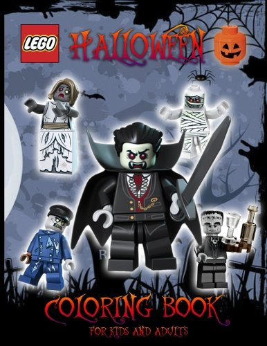 LEGO Halloween: Lego Monsters, Coloring Book for Kids and Adults, Activity Book (Exclusive high-quality Illustrations) Happy Halloween